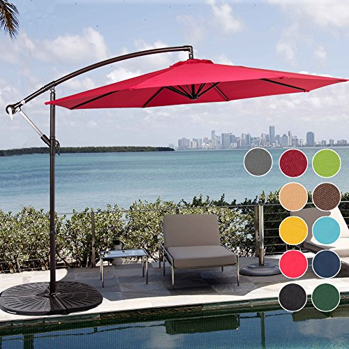Sundale Outdoor Aluminum Cantilever Polyester product image
