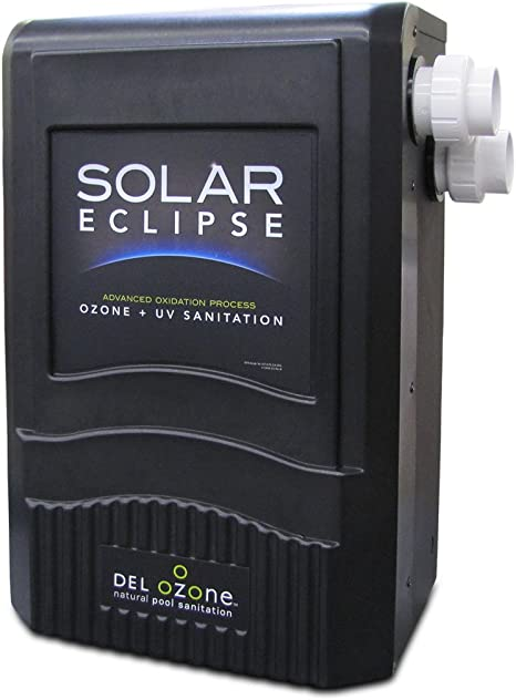 Amazon Com Del Ozone Sec 100 26 Solar Eclipse Sanitation System For Pools Swimming Pool Maintenance Kits Garden Outdoor