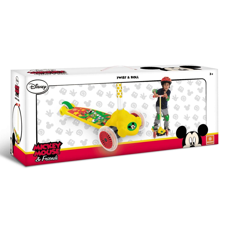 Mondo Mickey Mouse - Patinete Infantil: Amazon.es: Juguetes ...