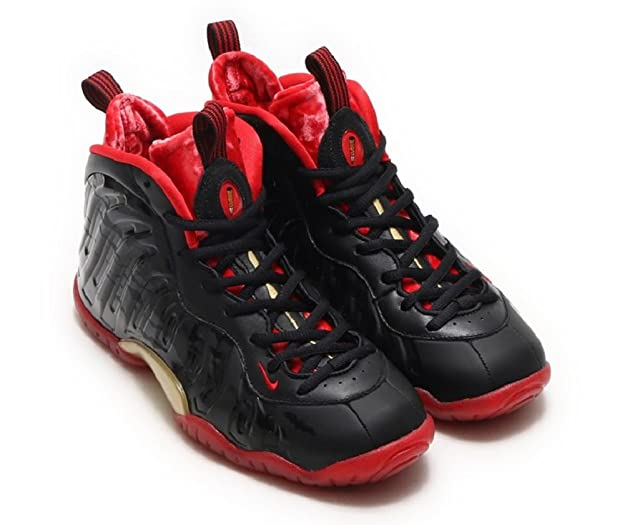c9c474eef7a1b Amazon.com  Nike Youth Little Posite One QX (GS) Dracula (6.5Y)  Sports    Outdoors