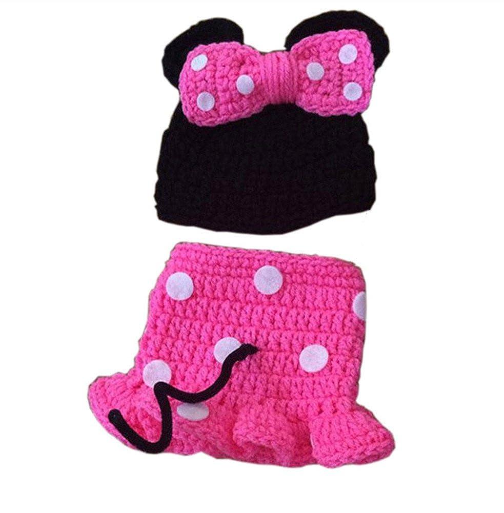 Amazon Pinbo Nebworn Baby Girls Photo Prop Crochet Mouse Hat