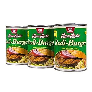 Loma Linda - Plant-Based - Redi-Burger (19 oz.) (Pack of 3) - Kosher