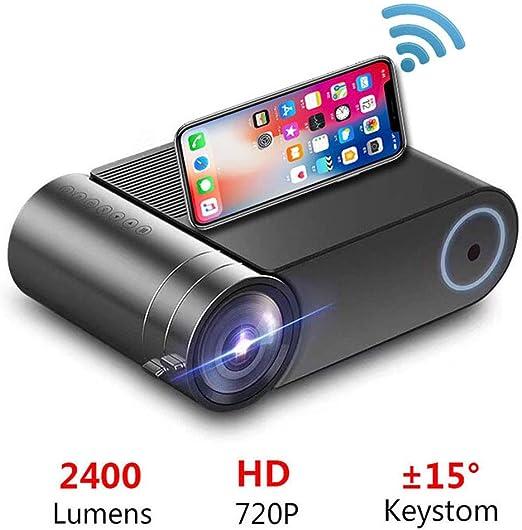Proyector, 4800 Lumen 44-200 Pulgadas de Pantalla LED para Cine en ...