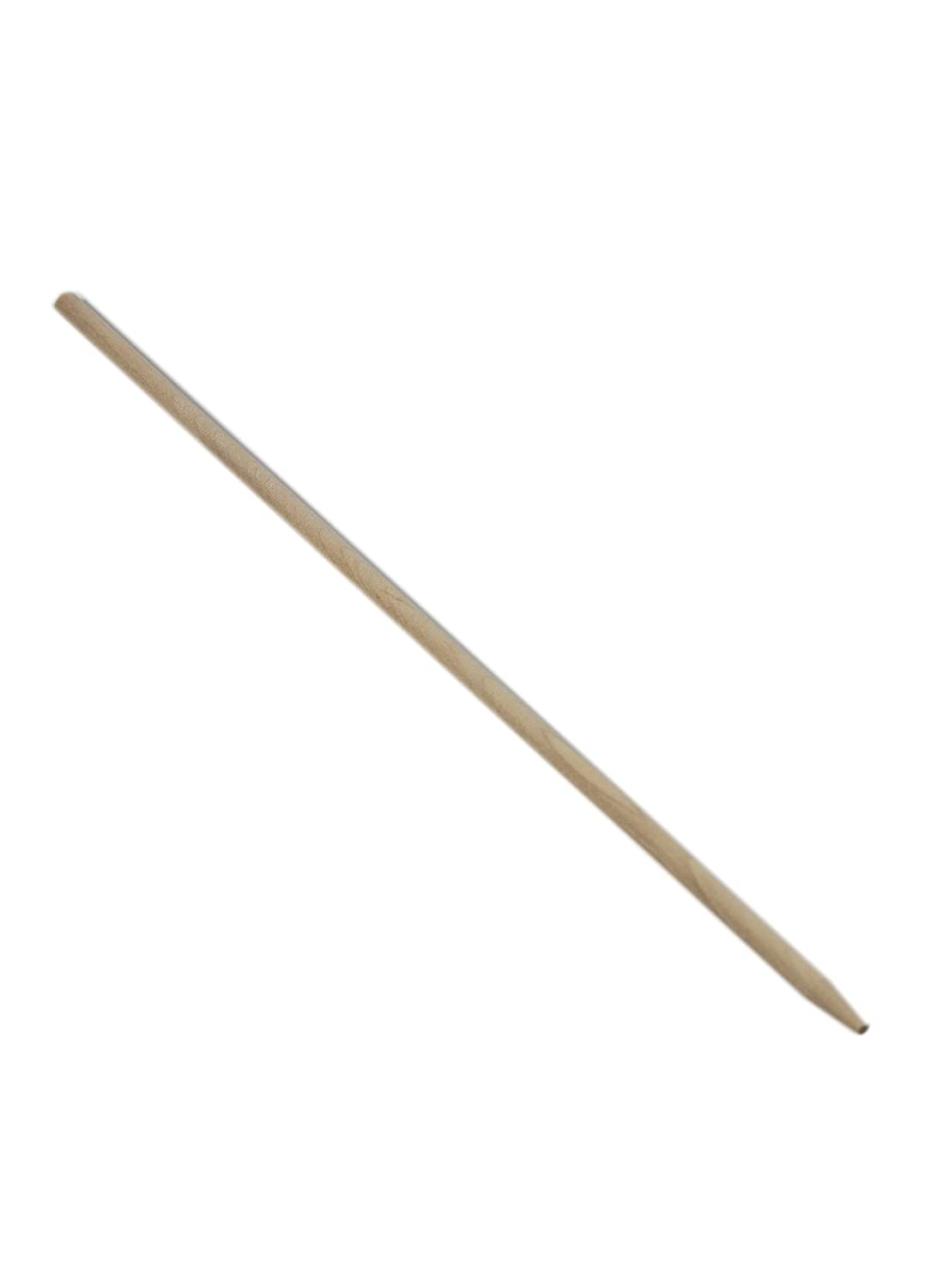 "Perfectware PW WRS55SP-200ct Wooden Semi Pointed Candy Apple/Corn Dog Sticks 5.5"" x 3/16"", Wooden Semi Pointed Candy Apple (Pack of 200)"