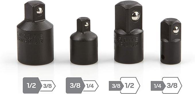 Tekton 4957 Reduzierungsadapter Und Adapter Satz Für Steckschlüssel 4 Teilig Baumarkt