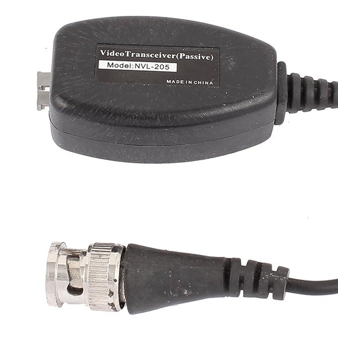 Amazon.com: eDealMax 10 Pares de transmisor UTP Pasivo 1 Canal receptor de vídeo BNC Balun Para la cámara de CCTV: Electronics