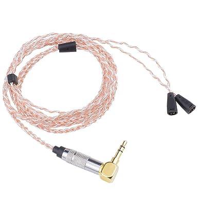 Alitutumao 7nocc 72 Kerne Ie80 Ie8i Ie8 Kopfhörer Kabel Hifi Draht Kompatibel Mit Sennheiser Headset Austauschbares Verbessertes Audiokabel Gewerbe Industrie Wissenschaft