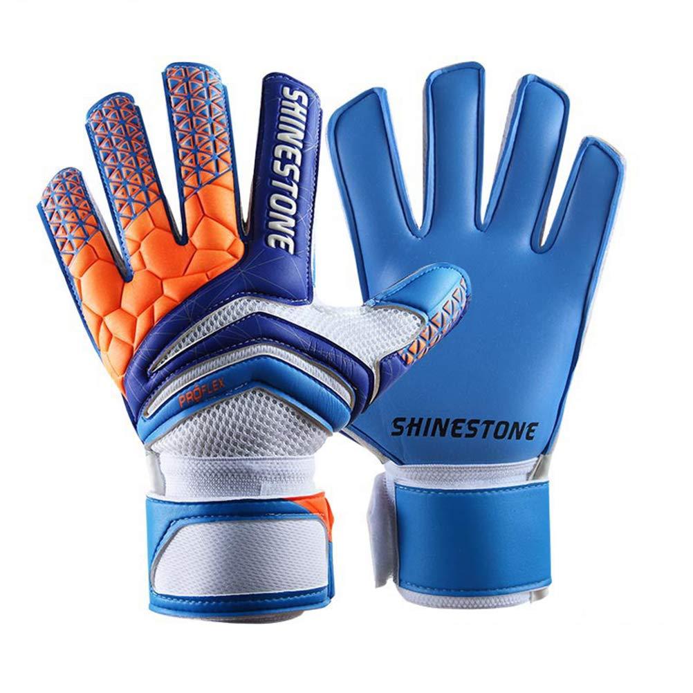 Goalkeeper Goalie Soccer Gloves - Kids & Adults Football Goal Keeper Gloves with Finger Protection Jalunth