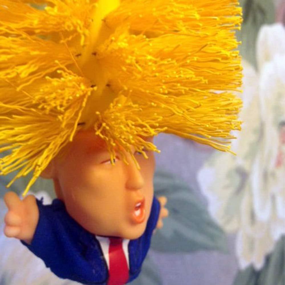 Donald Trump Toilet Brush Original Trump Toilet Brush Make Toilet Great Again,Commander in Crap