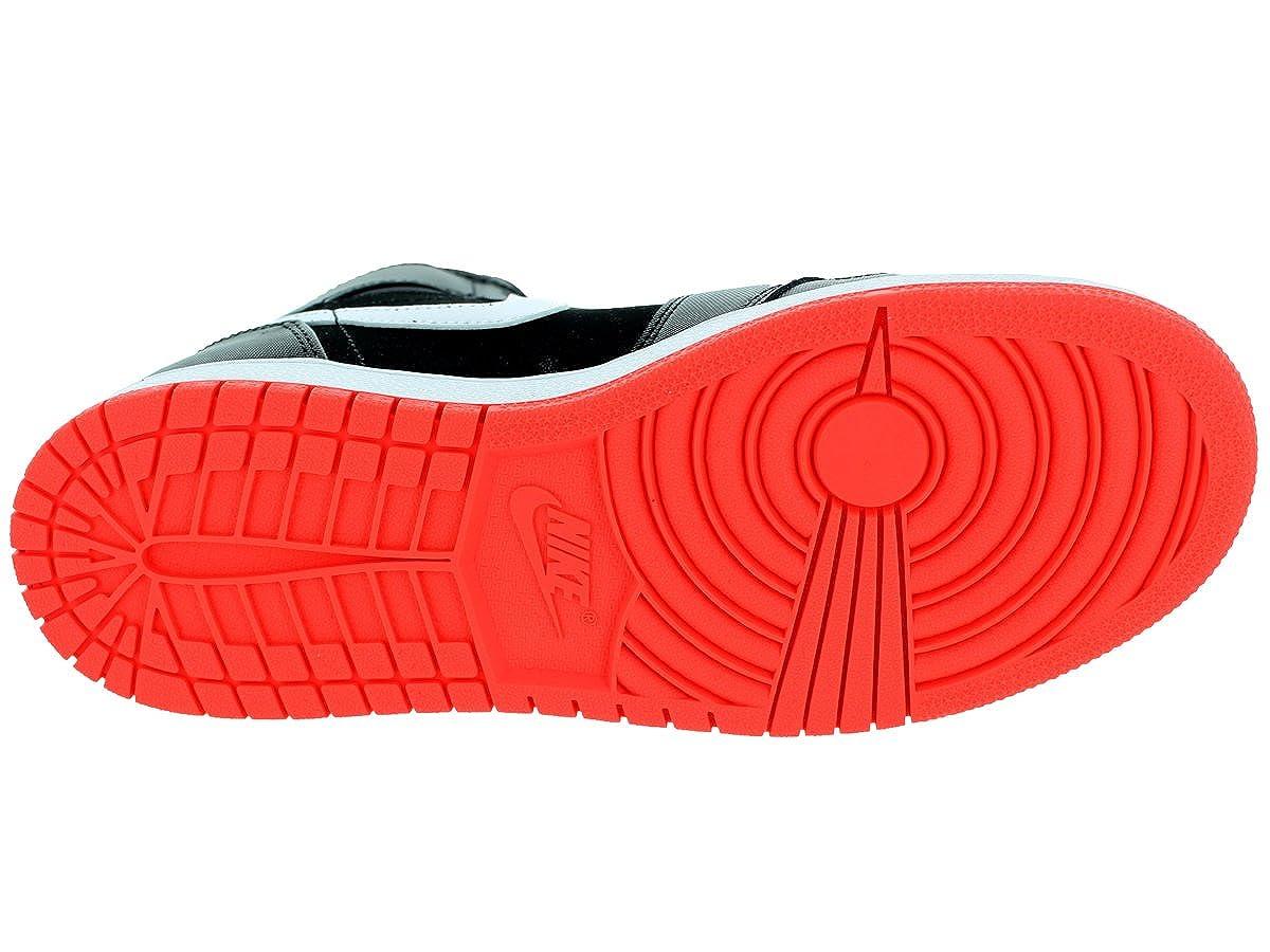 Size: 5Y NIKE AIR Jordan 1 Retro HIGH GG Black//Hotlava 332148-028