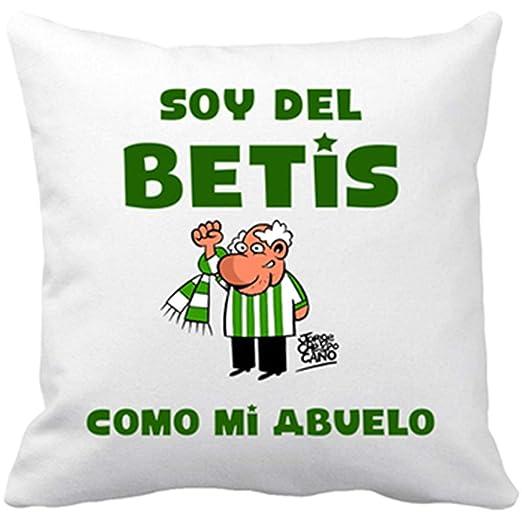 Diver Bebé Cojín con Relleno Real Betis Soy del Betis como ...