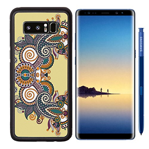 Neckline Petal (MSD Premium Samsung Galaxy Note8 Aluminum Backplate Bumper Snap Case Image ID 27417746 Neckline ornate floral paisley embroidery fashion design ukrainian ethnic style Good for print clothes or shirt)
