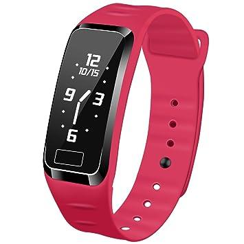 Presión arterial reloj inteligente Fitness Tracker newyes nbs07 gestión inteligente de pulsera con pulsómetro spo2h sueño podómetro para Android IOS ...