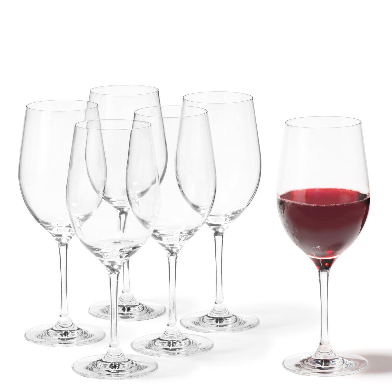 Leonardo 019842 Set de 6 Vin Rouge Ciao+