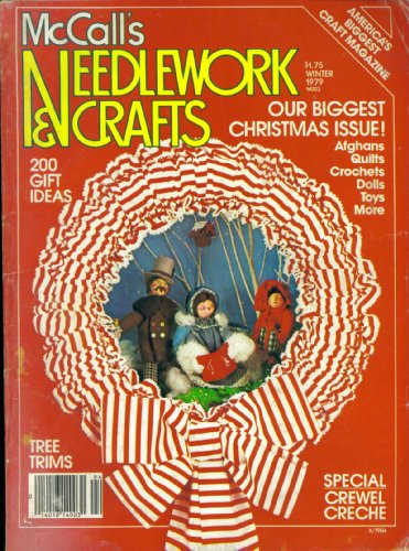 (Mccall's Needlework & Crafts. Winter 1979.)
