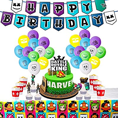 DMIGHT Birthday Party Supplies for Game Fans, Party Favors...