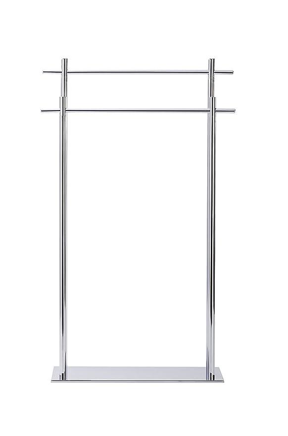 Wenko Kyoto Toallero Acero Plateado 19.5x51x84 cm