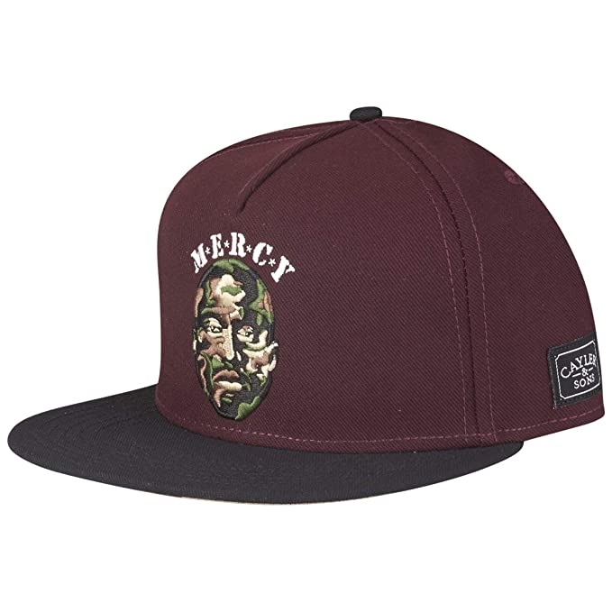 Cayler & Sons Gorras Mercy Bordeaux/Black Snapback: Amazon.es ...