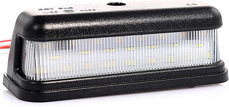 Led Kennzeichenbeleuchtung Nummernschildbeleuchtung Mit Zulassung Canbus Plug Play V 034302 Auto