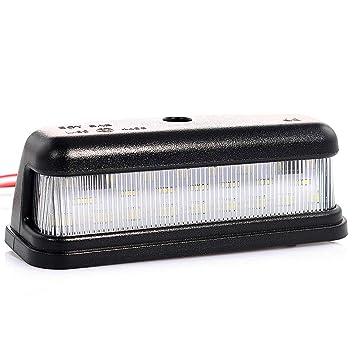 Illuminazione targa LED con omoloione