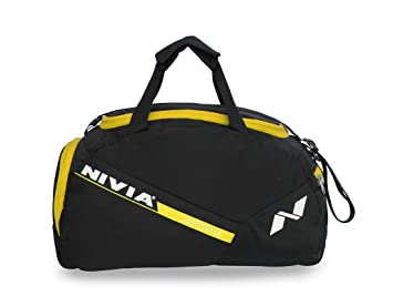 f1349d750b Image Unavailable. Image not available for. Colour  Nivia 5412BY Polyester  Sports Space Bag ...