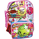 Shopkins Backpack with Bonus Lunch Bag and Pencil Case