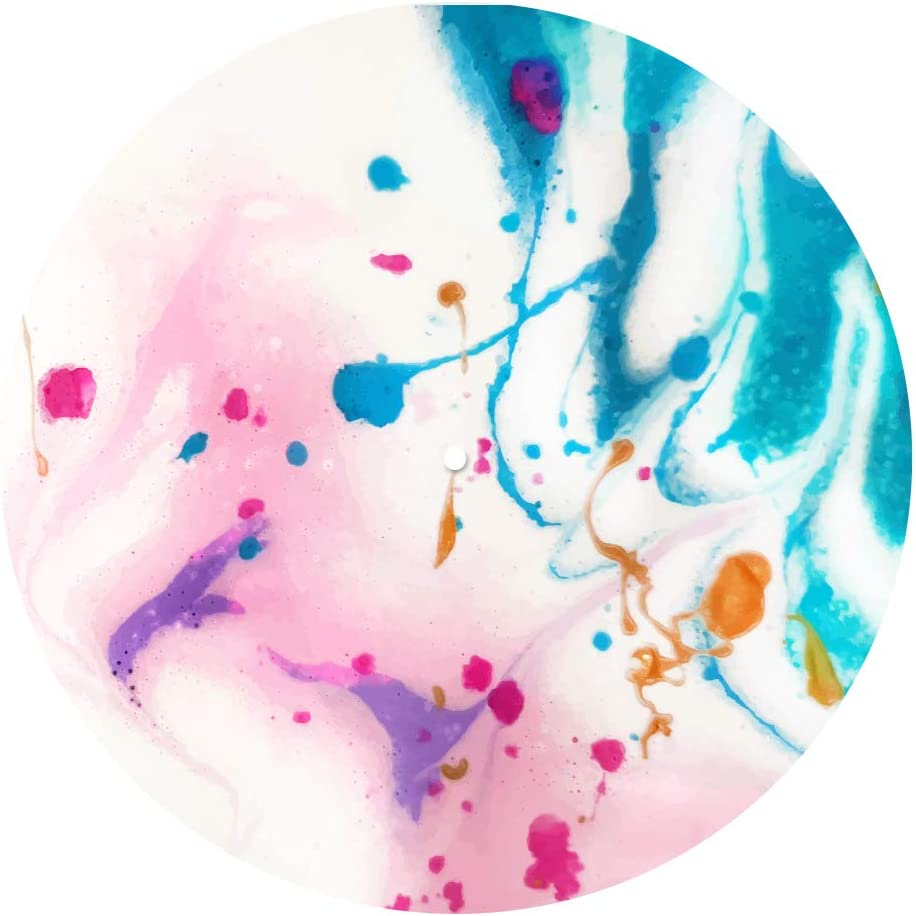 7 12 Watercolour Vinyl DJ SLIPMATS//Turntable SLIP MATS