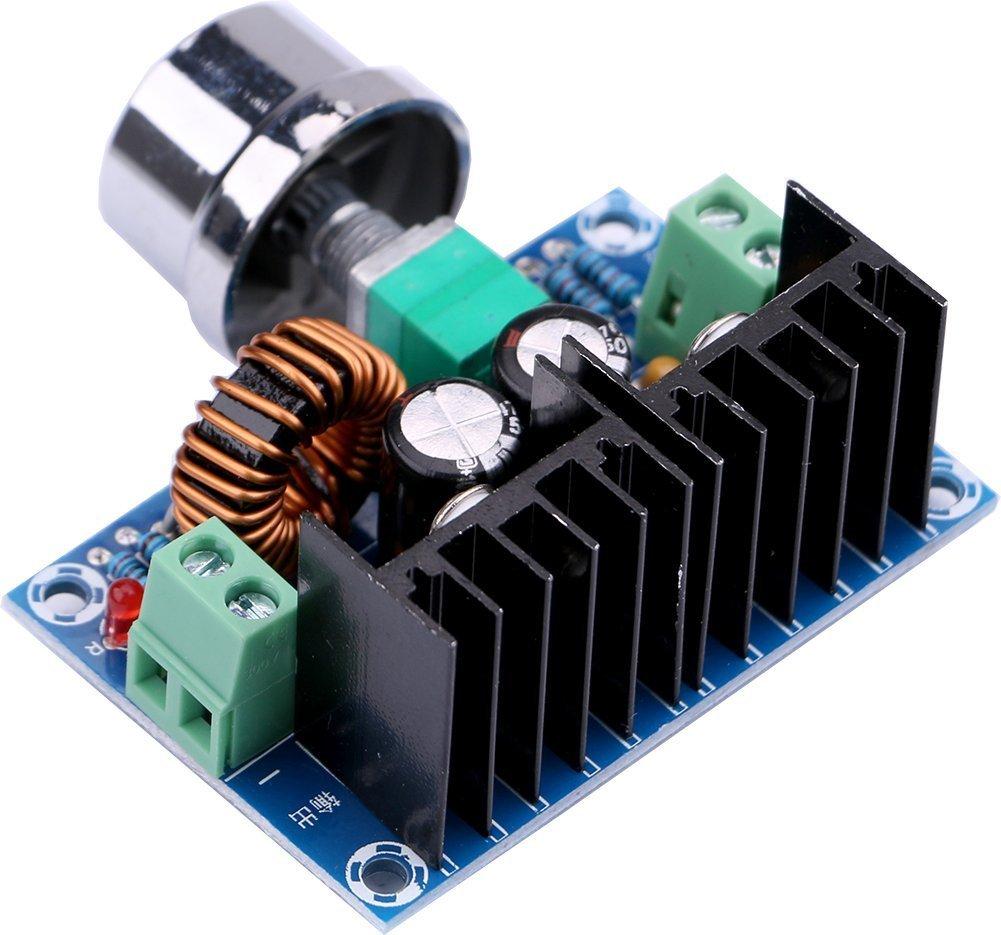 WINGONEER XL4016E1 DC 4-40V /à DC 1.25-36V 8A R/égulateur de tension du convertisseur Buck Converter 36V 24V 12V /à 5V Puissance /élev/ée Efficacit/é /Échec D/éverseur Alimentation