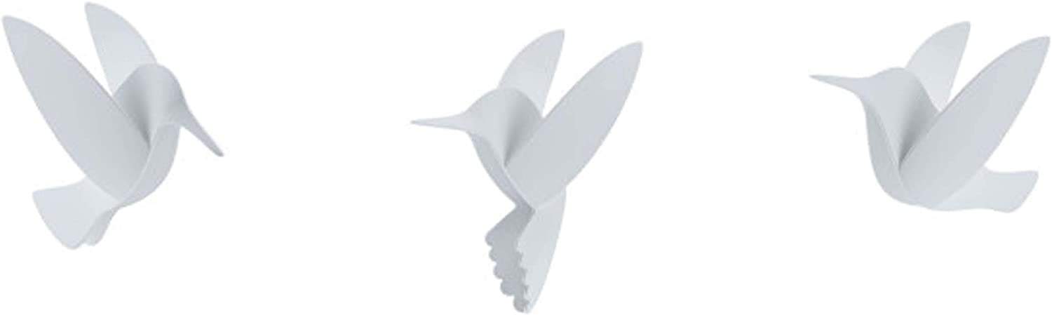 Umbra Hummingbird Wall Decor, White