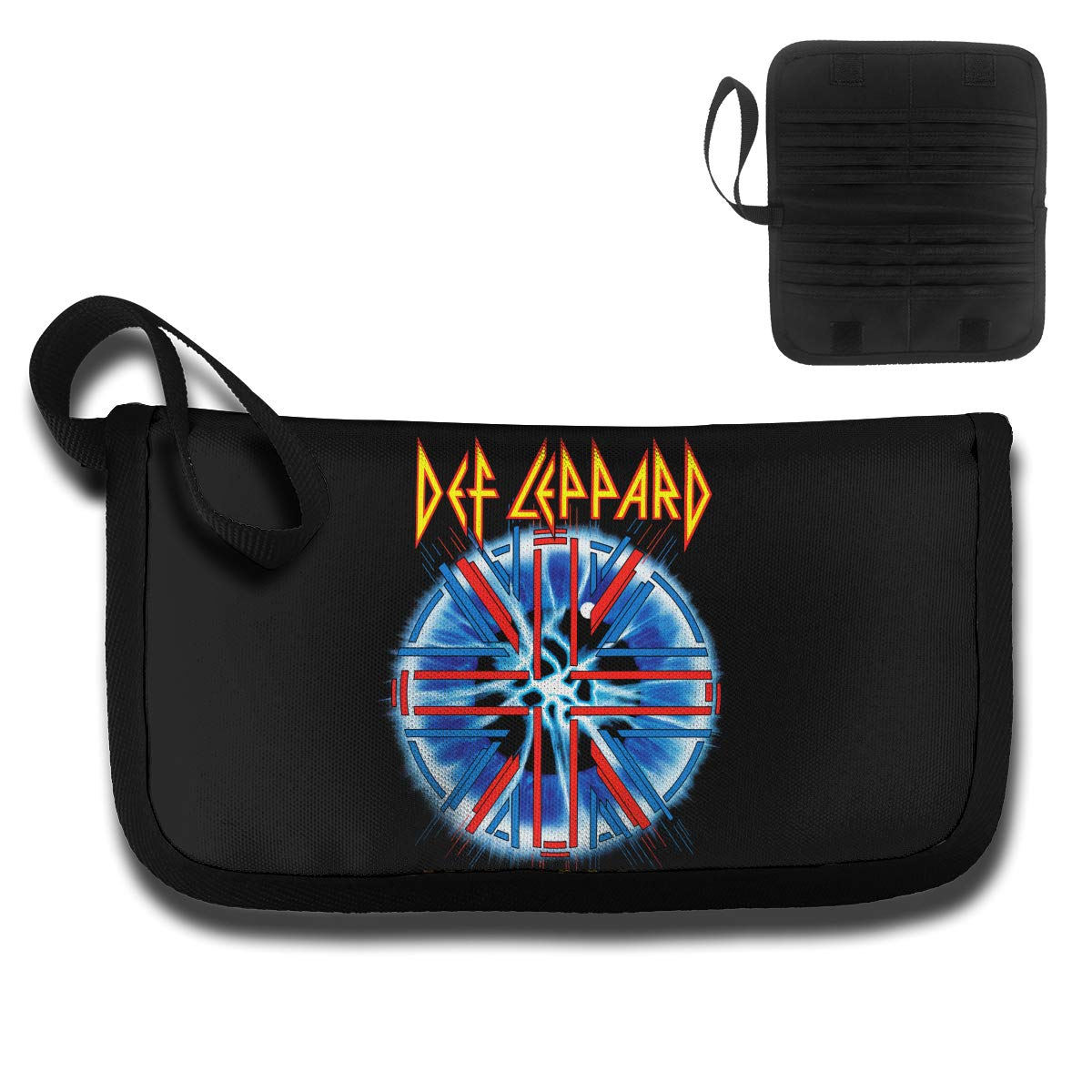 4.6oz KELTY S LANCE Def Leppard Durable Unisex Card Bag,with A Handle,Travel Wallet