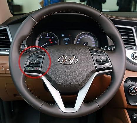 Automotiveapple genuino interruptor de control remoto en el volante para Hyundai Tucson