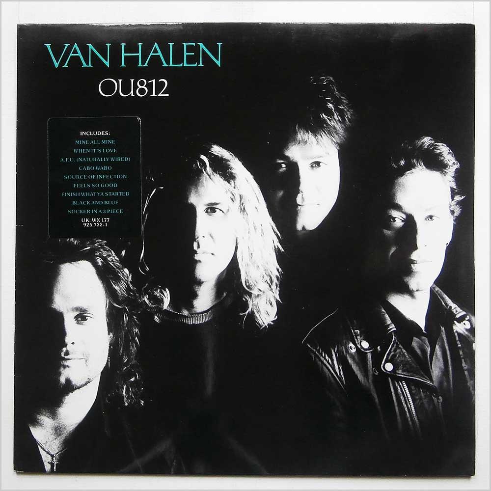 Van Halen Van Halen Ou812 Warner Bros Records 9 25732 1 Warner Bros Records 1 25732 Amazon Com Music