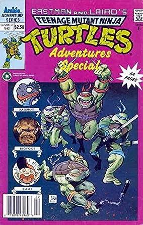 Amazon.com: Teenage Mutant Ninja Turtles Adventures (2nd ...