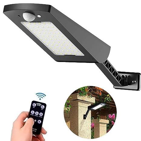 Solarleuchte 16 LED Außen Solarlampe Bewegungsmelder Sicherheits Wandleuchte