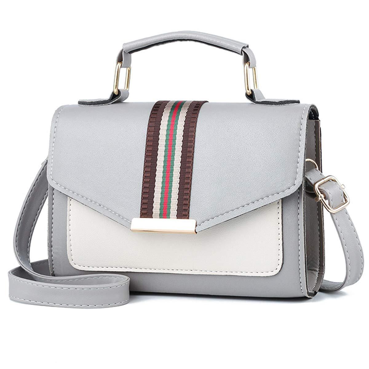 2018 Herbst neue, bedruckte kleine quadratische Tasche, einfache Umhängetasche, diagonale weibliche Tasche (20x15x6 cm, Beige) einfache Umhängetasche Wdsy