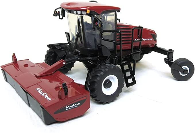 swather head Awesome! 1//64 MacDon M1240 self propelled windrower w// draper NEW