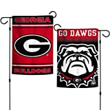 "Elite Fan Shop Georgia Bulldogs 12.5""x18"" Garden"