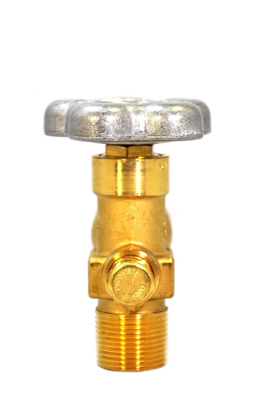 Thread CGA 580 4000 PSI Pressure Relief Sherwood Global Brass Valve 3//4 NGT+7 F