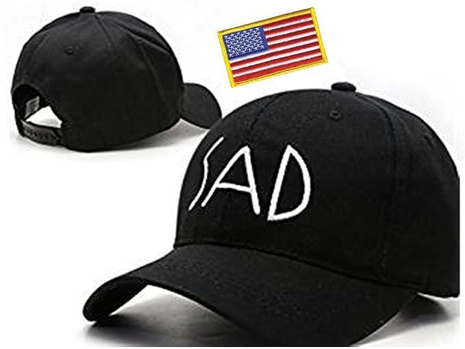 Amazon.com  Wendy Wu Sad Adjustable Baseball Hat Strap Cap Fashion ... bae5cda7aac