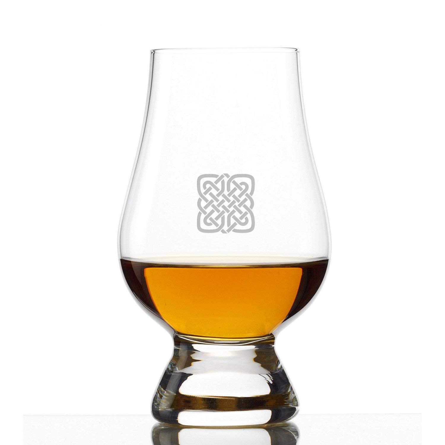 Glencairn Crystal Whiskey Glass, Set of 4 Celtic Knot