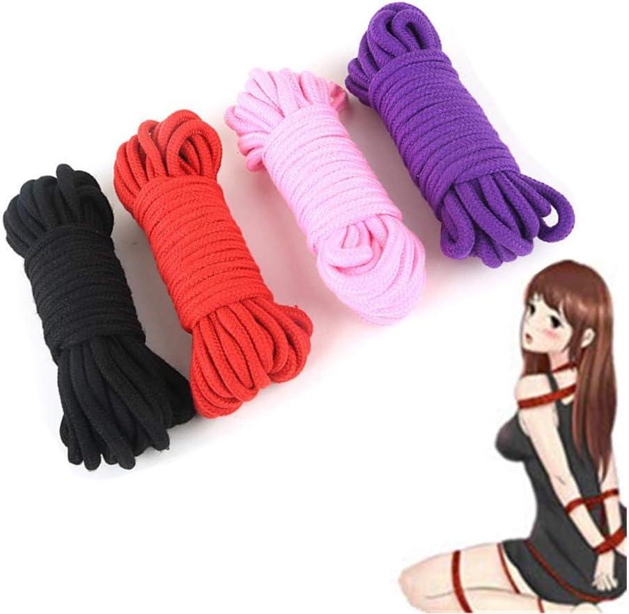 Cuerda de algodón suave versátil de 4 piezas, adecuada para todo ...