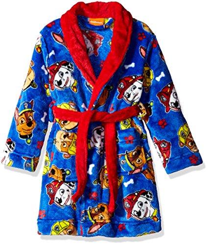 Nickelodeon Toddler Boys' Paw Patrol Luxe Plush Robe