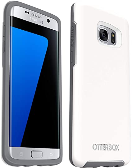 premium selection 126e1 68392 OtterBox Symmetry Series Slim Case for Samsung Galaxy S7 Edge - Non-Retail  Packaging - Glacier
