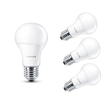 Philips 5060377882406 230 V E27 rosca Edison 13.5 W bombilla LED, luz blanca cálida de