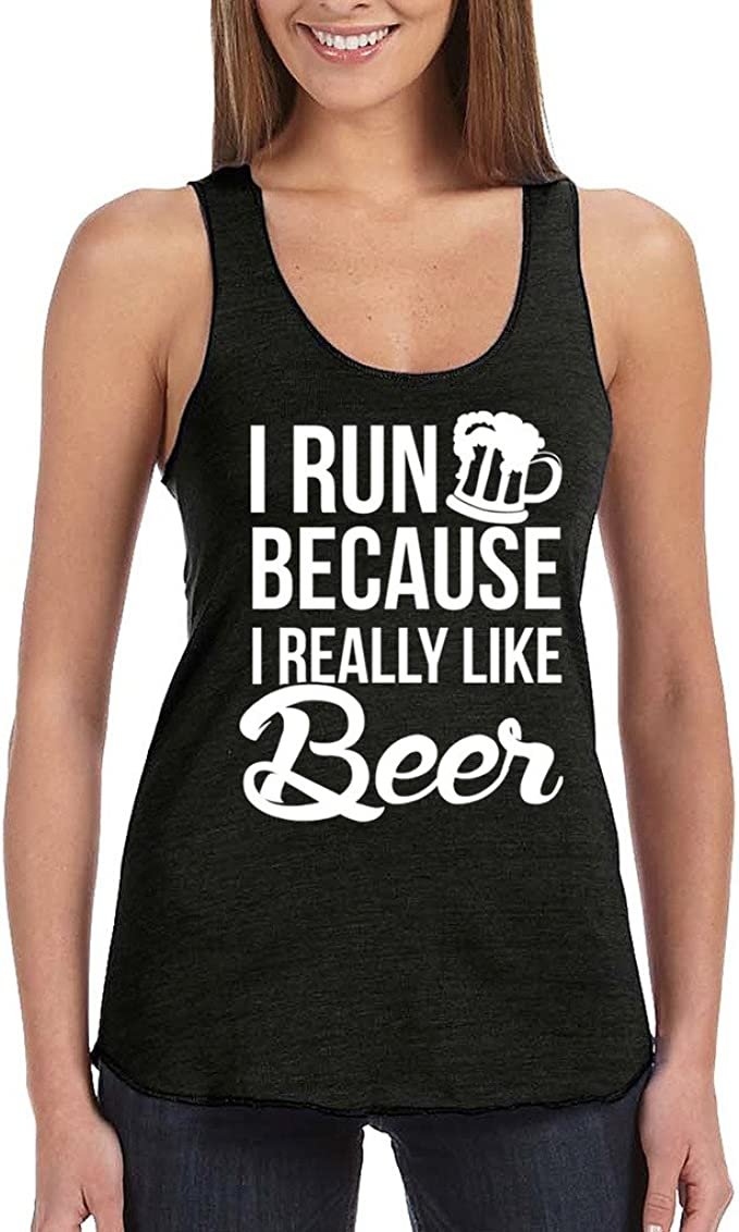 Summer Relaxed Beer Me Racerback Tank Dress