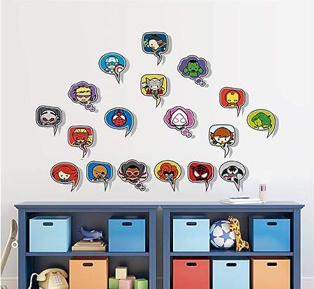 Spiderman de dibujos animados Avenger Etiqueta de La Pared Para ...