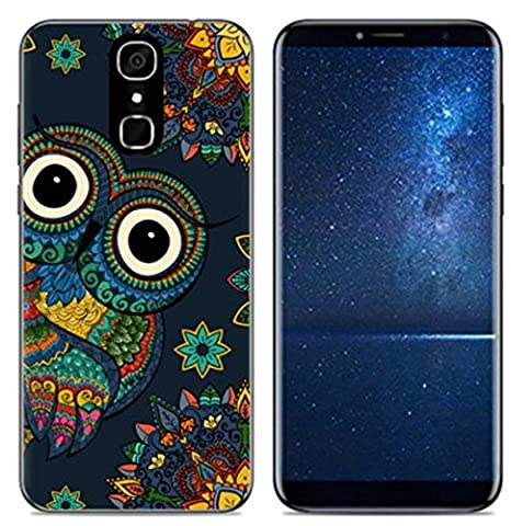 PREVOA Funda para CUBOT X18 - Colorful Silicona TPU Funda Case ...
