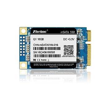 Zheino Q1 mSATA SSD de 16 GB (30 * 50 mm) Interno mSATA Memoria ...