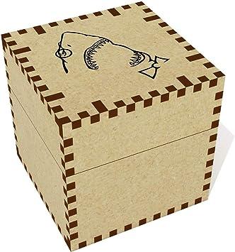 Azeeda Medio Friki de Tiburón Joyería Caja (JB00015851): Amazon ...