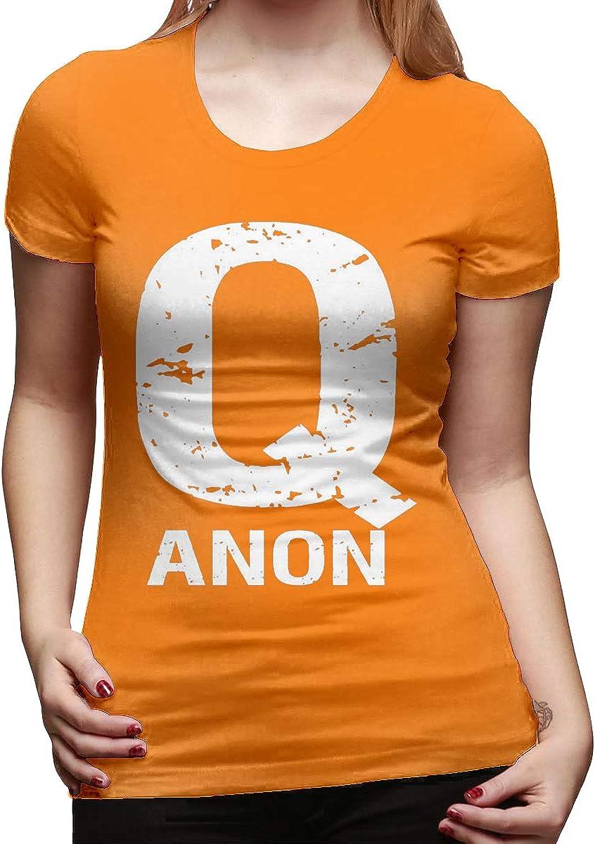 QAnon Freedom Movement Q Anon - Camiseta de Manga Corta para Mujer ...
